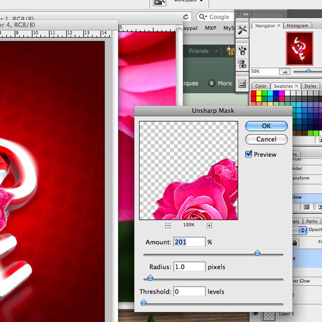 Picture%252037 Thiết Kế Chữ 3D Photoshop: Lễ Tình Yêu