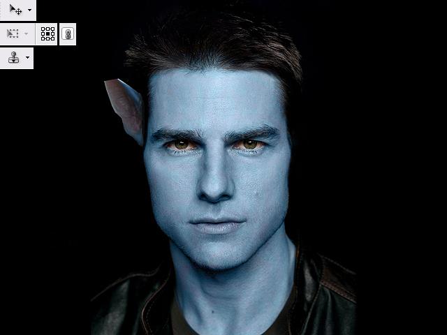 image04 Thiết Kế Nhân Vật Navi Avatar trong Photoshop