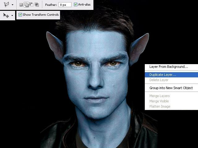 image06 Thiết Kế Nhân Vật Navi Avatar trong Photoshop