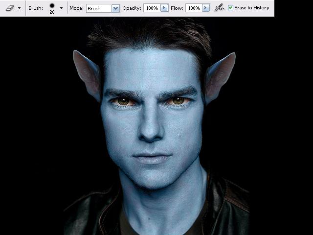 image07 Thiết Kế Nhân Vật Navi Avatar trong Photoshop