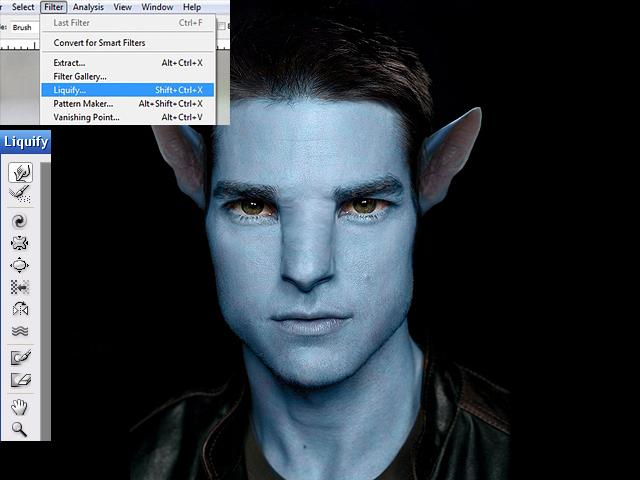 image08 Thiết Kế Nhân Vật Navi Avatar trong Photoshop