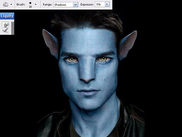 image10 Thiết Kế Nhân Vật Navi Avatar trong Photoshop