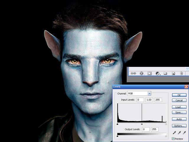 image11 Thiết Kế Nhân Vật Navi Avatar trong Photoshop