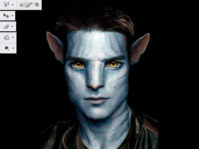 image13 Thiết Kế Nhân Vật Navi Avatar trong Photoshop